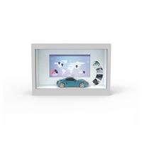 家用透明屏橱窗-32寸透明屏模型展示柜