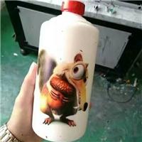 个性定制酒瓶浮雕图案喷绘机直接销售