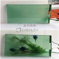 智能调光玻璃通电透明断电雾化