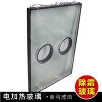 5+5夹胶拉丝电加热防雾除雪玻璃