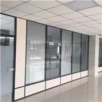 安康玻璃百叶隔断、隔断墙、办公玻璃隔断,铝合金玻璃