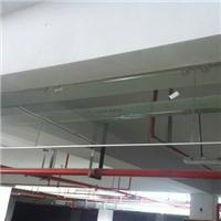 固定式挡烟垂壁透明玻璃型