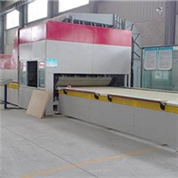 鋼化玻璃+中空玻璃生產線