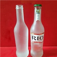 鸡尾酒瓶,玻璃瓶,280毫升鸡尾酒瓶,磨砂鸡尾酒瓶