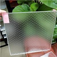 防滑玻璃 八字型防滑玻璃 圆点防滑玻璃