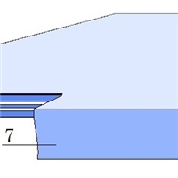 以熔化温度≤600℃的封接材料,制作全钢化真空玻璃