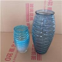 水纹花瓶玻璃瓶