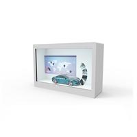 透明屏展示柜32寸出厂价-透明屏橱窗