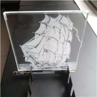 广州卓越内雕导光玻璃激光内雕玻璃特种玻璃