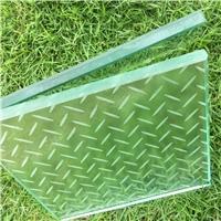广州卓越防滑玻璃夹层钢化玻璃夹胶钢化防滑玻璃