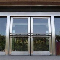 重庆市不锈钢防火玻璃门厂家设计安装