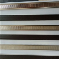 铝木门窗专用欧韵暖边条  百叶玻璃暖边条