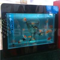 46/55/82寸透明屏鱼缸显示屏价格低耐用