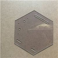 ITO导电玻璃激光打孔加工