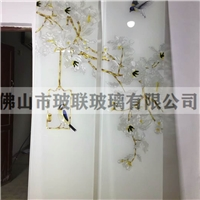 广东佛山厂家  艺术插丝珐琅彩玻璃