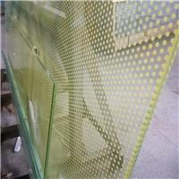 工廠生產鋼化夾膠玻璃 安全PVB雙層玻璃 可鉆孔 開凹