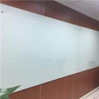 钢化玻璃白板磁性挂式写字板支架式黑板会议