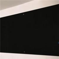 鋼化玻璃黑板磁性掛式寫字板支架式會議