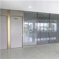 青岛办公室玻璃墙背景墙装潢墙隔断