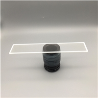 白色丝印布纹灯具玻璃/东莞灯具玻璃厂/灯具布纹玻璃