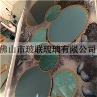 广东佛山琉璃 冰花珐琅彩玻璃 工艺玻璃