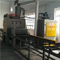 自动喷砂机广东锯片油漆处理抛丸机厂