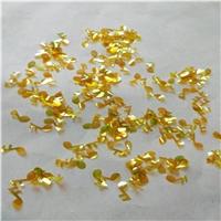 厂家供应PET异形金葱粉亮片 环保镭射美甲闪光片