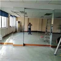广州玻璃镜定制、舞蹈镜子、瑜伽镜子、墙面镜安装