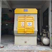 抛丸机专业制造商广东履带式抛丸机