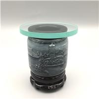8-15mm透明圆形灯具玻璃
