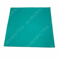 防静电台垫2MM 绿色抗静电地垫 橡胶垫