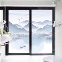 卫生家移门浴室夹丝夹胶钢化玻璃厂家