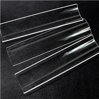 石英瓦片弧形玻璃片烧烤炉玻璃罩燃气炉玻璃