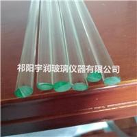 供应玻璃搅药棒 两头切磨宇润玻璃