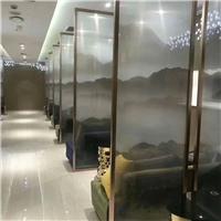 展览馆夹丝钢化玻璃