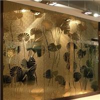 室内装饰背景墙玄关隔断玻璃
