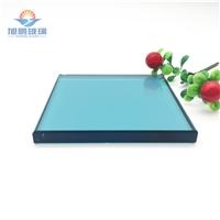 厂家供应8-12mm浅蓝色玻璃,彩色玻璃,有色玻璃