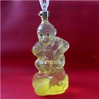 美猴王造型玻璃酒瓶个性玻璃猴子醒酒器