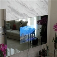 鏡面顯示玻璃 雙向鏡面電視玻璃廠家 觸摸屏鏡面玻璃