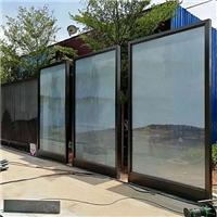 广州卓越特种玻璃山水画水墨画夹胶玻璃