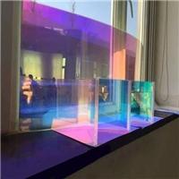 广州卓越特种玻璃炫彩玻璃七彩玻璃