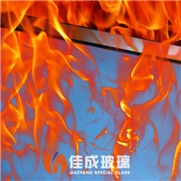 佳成6-15单片铯钾防火玻璃