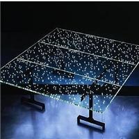 广州卓越特种玻璃内夹LED灯珠发光玻璃