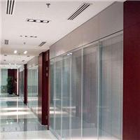 广州卓越特种玻璃电控中空百叶玻璃