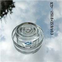 螺纹镜 菲涅尔螺纹镜 烟具异形硼硅玻璃器件