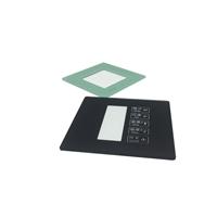 供应智能开关面板玻璃黑色白色彩色丝印玻璃