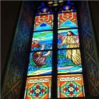 教堂玻璃  镶嵌