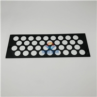 热销3mm黑色高温丝印玻璃,灯具用丝印钢化玻璃