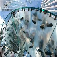 广州高强度防滑钢化玻璃 夹层防滑玻璃价格