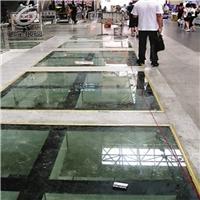 佛山防滑钢化玻璃 舞台玻璃地砖